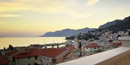 Lägenhetshotellet Dijana i Baska Voda, Kroatien.