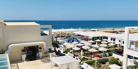Hotell Dimitrios Village Beach Resort i Rethymnon på Kreta, Grekland.