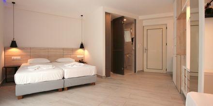 Lägenhet på hotell Dimitrios Village Beach Resort i Rethymnon på Kreta, Grekland.