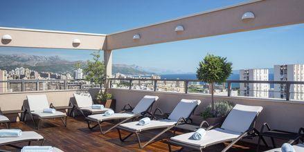 Solterrass på Dioklecijan Hotel & Residence, Split, Kroatien.