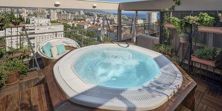 Jacuzzi på Dioklecijan Hotel & Residence, Split, Kroatien.