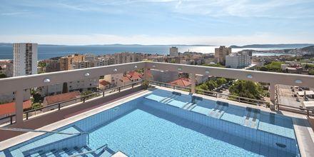 Takpool på Dioklecijan Hotel & Residence, Split, Kroatien.