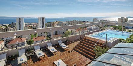 Takterrass på Dioklecijan Hotel & Residence, Split, Kroatien.