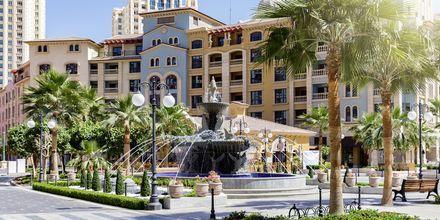 The Pearl är en artificiell ö i Doha.