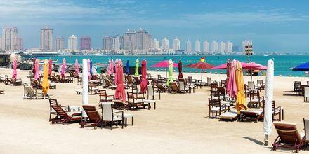 Doha, huvudstad i Qatar, är ett nytt, spännande resmål hos Apollo.