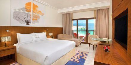 Dubbelrum på hotell Doubletree by Hilton Marjan Island i Ras al Khaimah.