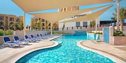 Barnpool på hotell Doubletree by Hilton Marjan Island i Ras al Khaimah.