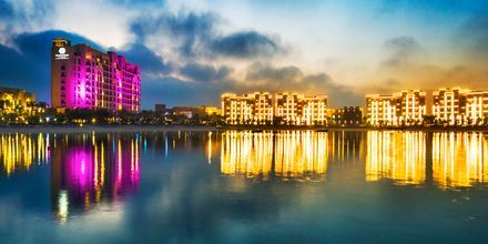 Hotell Doubletree by Hilton Marjan Island i Ras al Khaimah.