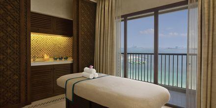 Spa på hotell Doubletree by Hilton Marjan Island i Ras al Khaimah.