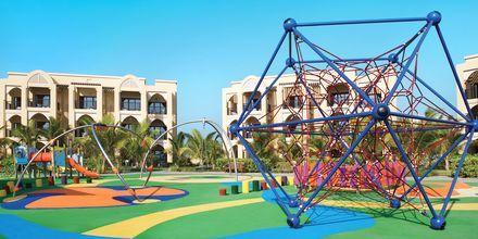 Lekplats på hotell Doubletree by Hilton Marjan Island i Ras al Khaimah.