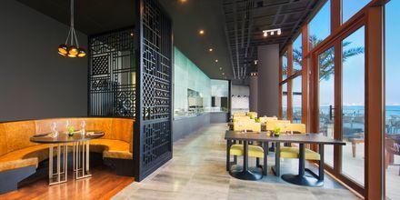 Restaurang Sanchaya på hotell Doubletree by Hilton Marjan Island i Ras al Khaimah.
