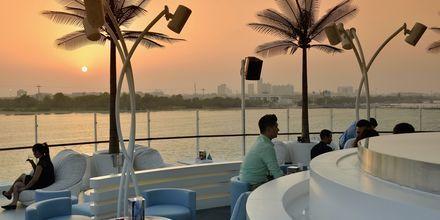 Skybaren El Cielo i Dubai Yacht Club, Förenade Arabemiraten.