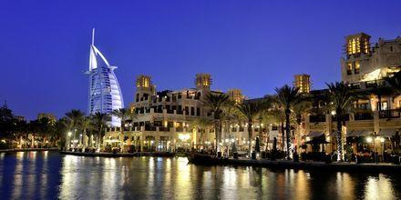 Burj Al Arab, det sjustjärniga lyxhotellet i Dubai.