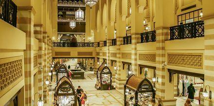 Shoppingcentret Souk Al Bahar i Dubai.