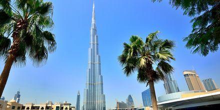 Burj Khalifa i Dubai, Förenade Arabemiraten.