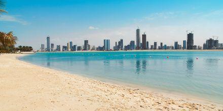 Strand i Dubai.