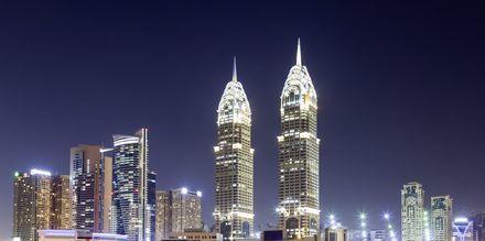 Skyline i Internet City, som är ett område med många IT-företag nära Al Barsha.