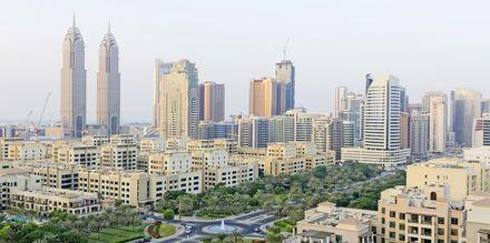 Byggnader i Al Barsha-området i Dubai, Förenade Arabemiraten.