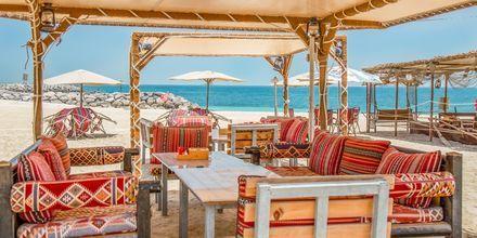 Restaurang på stranden.