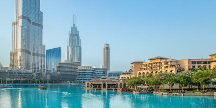 Dubai Downtown, Förenade Arabemiraten.