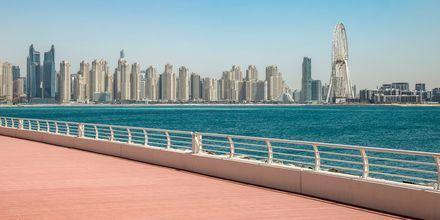 Palm Jumeirah i Dubai, Förenade Arabemiraten.