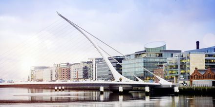 Samuel Beckett Bridge i Dublin.