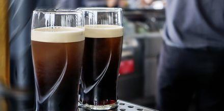 Ölen Guinness kommer från Irland och är således väldigt populär i Dublin.