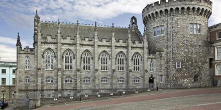 Dublin Castle, slottet i Dublin. Slottets äldsta delar är från 1100-talet.