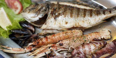 Havets läckerheter går att äta på i stort sett alla restauranger i Dubrovnik.