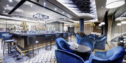 Bar på Dukes The Palm, a Royal Hideaway Hotel på Dubai Palm Jumeirah, Förenade Arabemiraten.