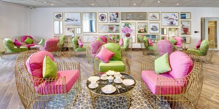 Telounge på Dukes The Palm, a Royal Hideaway Hotel på Dubai Palm Jumeirah, Förenade Arabemiraten.