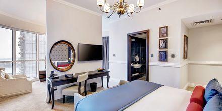 Juniorsvit på Dukes The Palm, a Royal Hideaway Hotel på Dubai Palm Jumeirah, Förenade Arabemiraten.