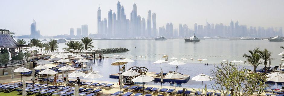 Hotell Dukes The Palm, a Royal Hideaway Hotel på Dubai Palm Jumeirah, Förenade Arabemiraten.
