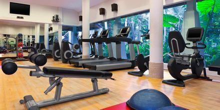 Gym på Dusit Thani Krabi Beach Resort i Klong Muang på Krabi, Thailand.