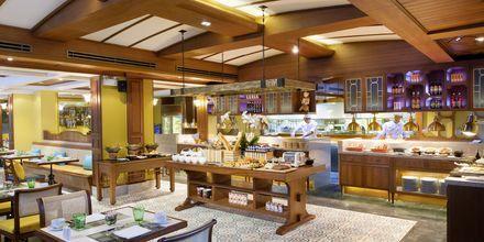 Restaurang Laguna Café serverar thailändska, kinesiska och portugisiska rätter.