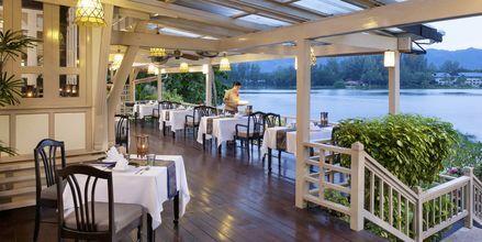 Ruen Thai bjuder på en vacker utsikt över lagunen.