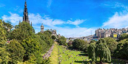 Sommar i Edinburgh.