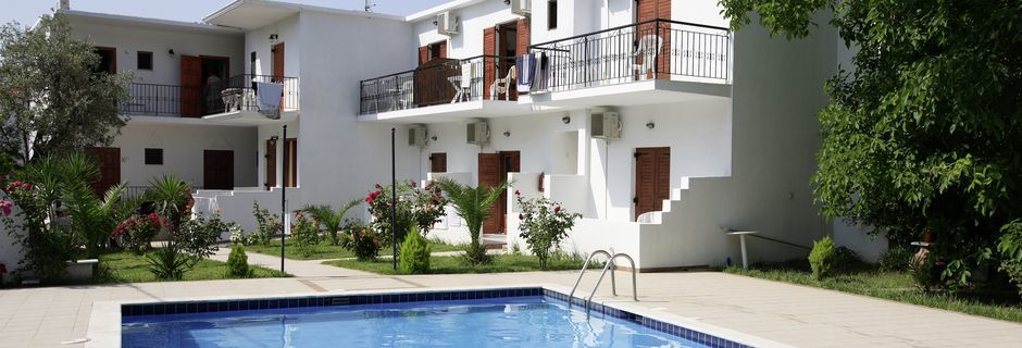 Hotell Ekaterini Studios i Magali Ammos på Skiathos, Grekland.