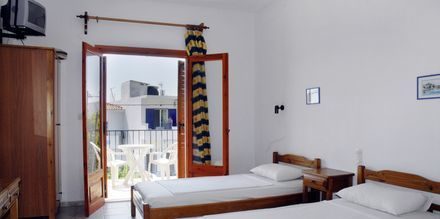 Enrumslägenhet på hotell Ekaterini Studios i Magali Ammos på Skiathos, Grekland.