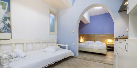 Lägenhet på hotell Elati på Lefkas, Grekland.