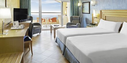 Dubbelrum på hotell Elba Sara på Fuerteventura, Kanarieöarna.