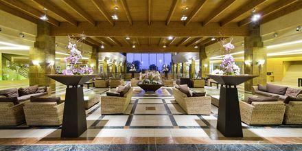 Lobbyn på hotell Elba Sara på Fuerteventura, Kanarieöarna.