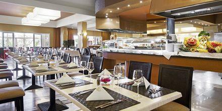 Bufférestaurang på hotell Elba Sara på Fuerteventura, Kanarieöarna.
