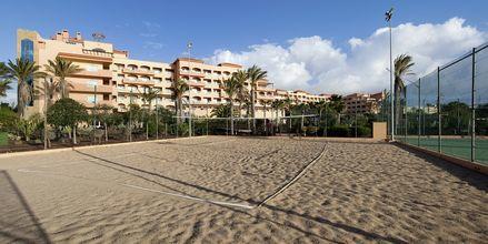 Beach Volley på hotell Elba Sara på Fuerteventura, Kanarieöarna.