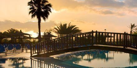 Poolområde vid hotell Elba Sara på Fuerteventura, Kanarieöarna.