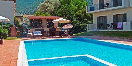 Hotell Eleana på Lefkas, Grekland.