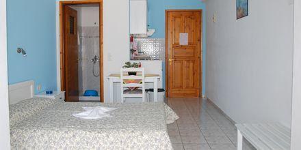 Enrumslägenhet på hotell Elena på Alonissos, i Grekland.