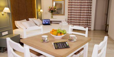 Enrumslägenhet på hotell Elia i Kato Stalos på Kreta, Grekland.