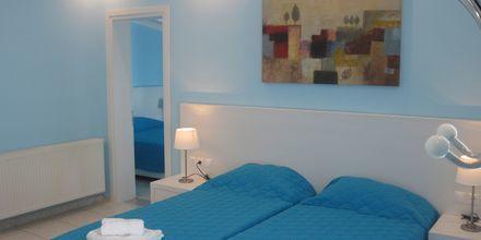 Tvårumslägenhet på hotell Elias i Megali Ammos på Skiathos, Grekland.