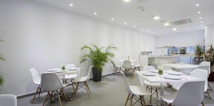 Restaurang på hotell Elite, Rhodos, Grekland.